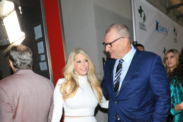 Ed O'Neill Ed O'Neill and Michelle Harris Outside 15th Annual Global Green Pre-Oscar Gala At NeueHouse