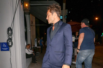 Ed Westwick Ed Westwick Is Seen At Craig's Restaurant