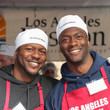 Edwin Hodge Christmas Meal for the Homeless at LA Mission