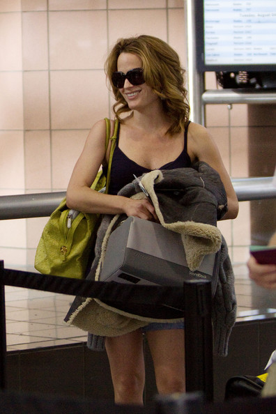 Elizabeth Reaser at LAX.