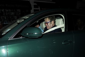 Elton John Elton John Enjoys a Night Out