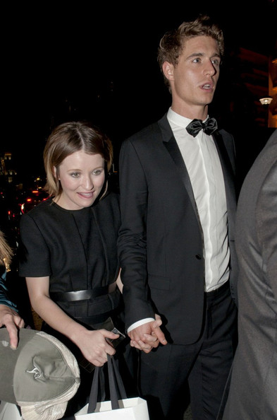 Emily Browning and Max...