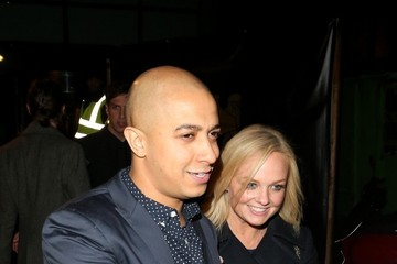 Emma Bunton Jade Jones Emma Bunton and Jade Jones Leaving Gilgamesh