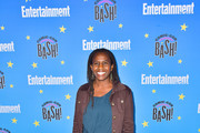 Hanelle Culpepper is seen at the Entertainment Weekly Comic-Con Celebration at Float at Hard Rock Hotel in San Diego, California.