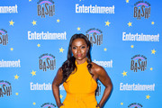 Yetide Badaki is seen at the Entertainment Weekly Comic-Con Celebration at Float at Hard Rock Hotel in San Diego, California.