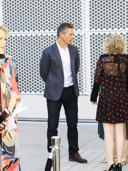 Eric Bana outside Wolf Saban Theatre in North Hollywood []