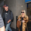 Eric Johnson Jessica Simpson And Husband Eric Johnson at LAX International Airport