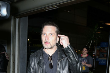 Eric Singer Eric Singer From KISS Goes to See a Movie at ArcLight Theatre