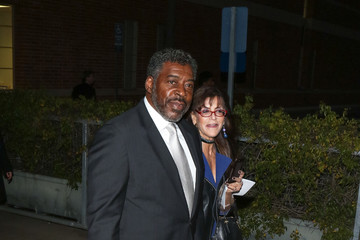 Ernie Hudson Celebrities Are Seen at the 44th Annual Annie Awards at Royce Hall