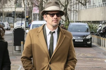 Ethan Hawke Ethan Hawke Arrives at ITV Studios
