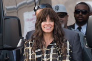 Evangeline Lilly Is Seen At 'Kimmel'