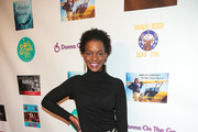 Kelsey Scott is seen attending the FYC Us Independents Screenings and Red Carpet at the Elks Lodge in Los Angeles, California.