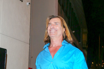 Fabio Lanzoni Fabio Outside 'Craig's' Restaurant in West Hollywood