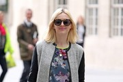 Fearne Cotton Arrives At Work