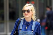 Fearne Cotton Spotted at the BBC Studios