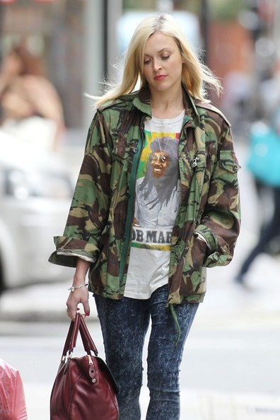 BYLINE: EROTEME.CO.UK.Fearne Cotton pictured in central London, UK.