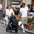 Federer and family in Rome