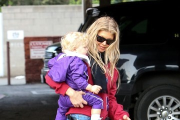 Fergie Fergie Spends the Day with Family