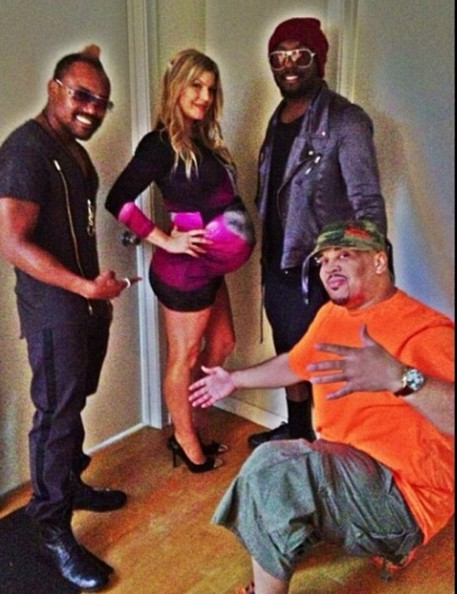 Fergie Shares Baby Shower Pics []