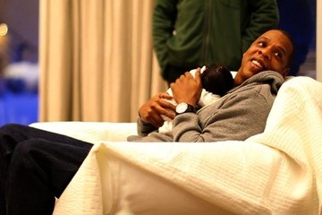 Jay-Z Blue Ivy Carter First Look at Baby Blue Ivy Carter