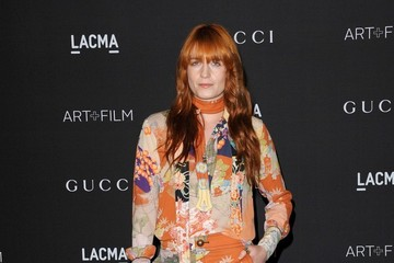 Florence Welch Arrivals at the LACMA Art + Film Gala