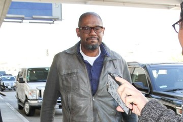 Forest Whitaker Forest Whitaker at LAX