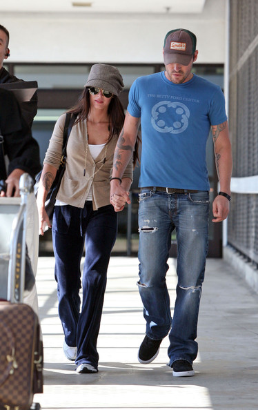 megan fox brian austin green. Megan Fox and Brian Austin