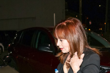 Frances Fisher Frances Fisher Outside Egyptian Theatre In Hollywood