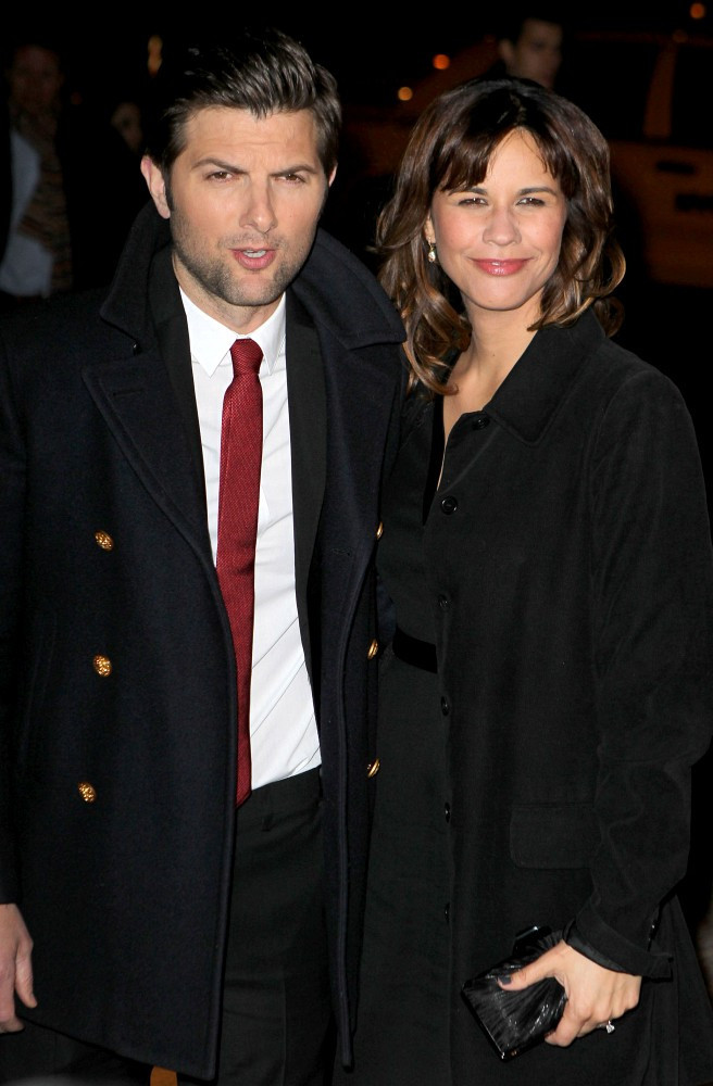 Adam Scott and Naomi Sablan Photos Photos - 'Friends with ...