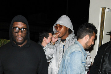 Future Future Keeps It Casual in Los Angeles