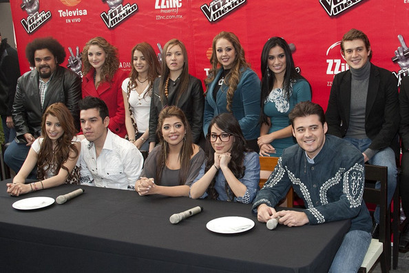 """""""The Voice Mexico"""" Press Conference"""