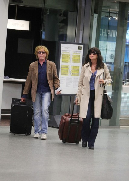 Mick hucknall and gabriella wesberry in london in this photo mick