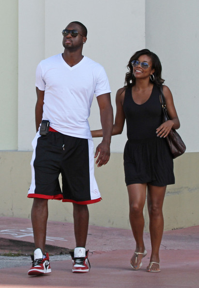 gabrielle union dating dwayne wade Dwyane wade and his wife gabrielle union are  gabby 45 years old and dwayne 36 have been married since 2014 the pair began dating in 2009 according to wade,.