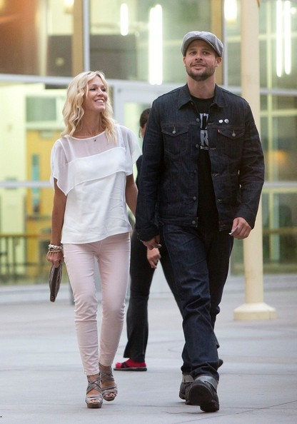 Jennie Garth and fiance