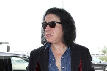 Gene Simmons Gene Simmons Arrives at LAX