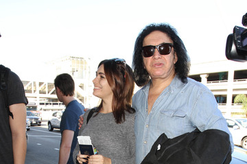 Gene Simmons KISS Is Seen at LAX