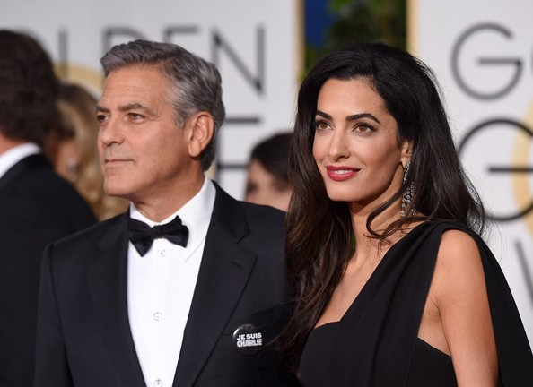 George Clooney at the Golden Globes January 2015 - Page 6 George+Clooney+Arrivals+Golden+Globe+Awards+hzH0rs4RN7Fl