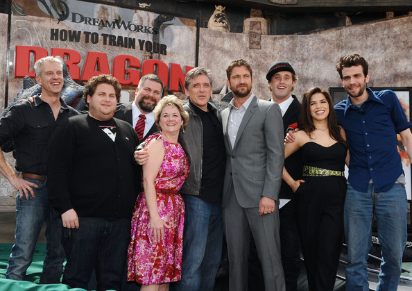Gerard butler and jonah hill photos photos how to train your how to train your dragon premiere ccuart Gallery