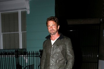 Gerard Butler Gerard Butler Leaves the GQ Afterparty