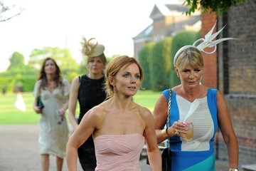 Geri Halliwell Poppy Delevigne at Her Wedding Reception