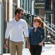 Gian Luca Passi de Preposulo Jessica Chastain and Her Boyfriend Out in NYC