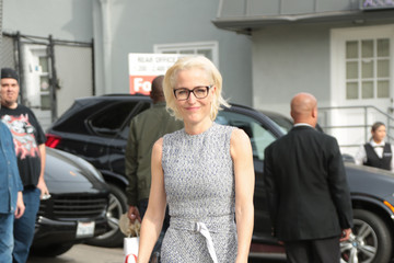 Gillian Anderson Gillian Anderson Arrives at Gold Meets Golden: The 5th Anniversary Refreshed by Coca-Cola, Globes Weekend Gets Sporty