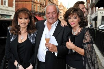 Joan Collins Jackie Collins Johnny Gold's 80th Birthday Party