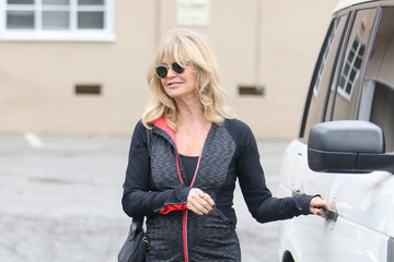 Goldie Hawn Goldie Hawn and Kurt Russell Are Seen Out