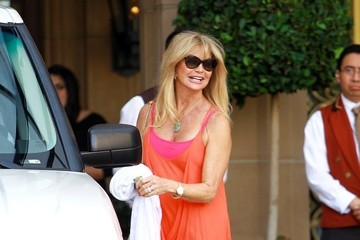 Goldie Hawn Goldie Hawn Spotted in Beverly Hills