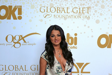 Golnesa Gharachedaghi OK! Magazine's Pre-Oscar Party In Support of Global Gift Foundation at BESO Restaurant