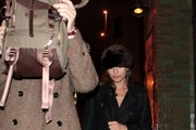 Ryan Gosling and Eva Mendes in New York City for New Years Eve celebrations.