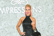 Gretchen Rossi  is seen attending the Gretchen Christine x Impressions Vanity PopUpParty at Impressions Vanity in West Hollywood in Los Angeles, California.