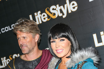 Gretchen Rossi Life & Style Weekly's 'Eye Candy' Halloween Bash Hosted by LeAnn Rimes