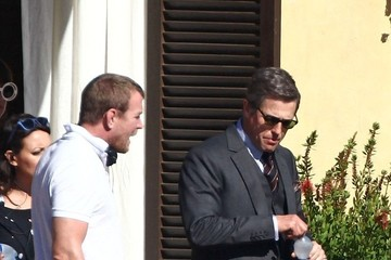 Guy Ritchie 'The Man from U.N.C.L.E.' Films in Rome